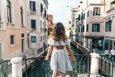 Venezia-Striped_Dress-Off_The_Shoulders-Collage_On_The_Road-Chloe_Bag-Outfit-6