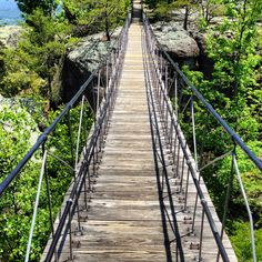 Chattanooga Tennessee - the Swinging Bridge @ Rock City
