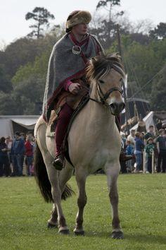 Viking horseman by nihilogist