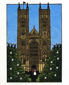 December 2011. Merry Christmas! This year's Westminster Abbey Christmas Card remembers the Royal Wedding