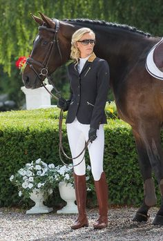 Prestige Event show coat and Supreme tall boots from 2015 SS Mountain Horse Collection.