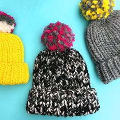 FREE! The Everyone Hat Knitting Pattern 4bfb0353b72a