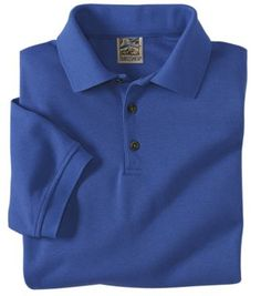 Men's CoolMax-Cotton Pique Banded Short Sleeve Polo