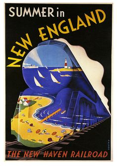 Summer in New England, 1938, Sascha Maurer via Paul Malon on Flickr