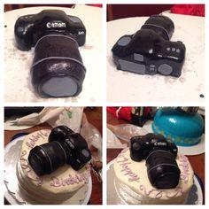 Camera Birthday Cake by Peace.Love.Cake!www.facebook.com/peace.love.cake.artist Binoculars, Birthday Cake, Peace, Facebook, Artist, Bags, Accessories, Handbags, Birthday Cakes