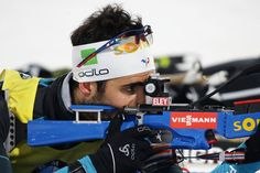 Martin Fourcade of France at the zeroing for the Men 10km Sprint during the BMW IBU World Cup Biathlon 2017 - test event for PyeongChang 2018 Winter Olympic Games at Alpensia Biathlon Centre on March 3, 2017 in Pyeongchang-gun, South Korea.
