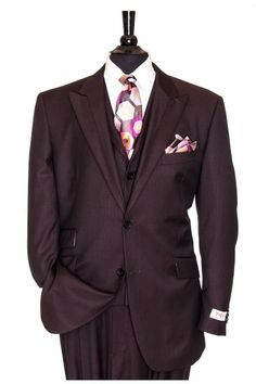 """Like"" this Tiglio men's suit? Find this Tiglio suit and more at www.FashionMenswear.com"