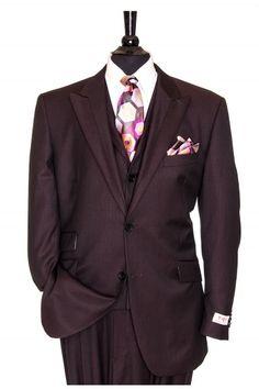 """Like"" this Tiglio men's suit? Find this Tiglio suit and more at www.FashionMenswear.com"