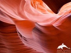 Rolling Waves at Antelope Canyon in Northern Arizona.