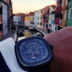 @adithyaraj spent great days in Venice!  For any information on Sevenfriday watches please email me at italy@sevenfriday.com  #sevenfriday #watch #watches #timepiece #billionaire #billionaire #billionairetoys #instawatch #dailywatch #wristshot #watchporn #wristporn #womw #rkoi #luxurywatch #baselworld #richardmille #patekphilippe #hublot #audemarspiguet #rolex #sihh #baselworld #instawatch #instawatches #designwatch #watchesofinstagram #horophile #wruw #watchnerd by sevenfriday_italy