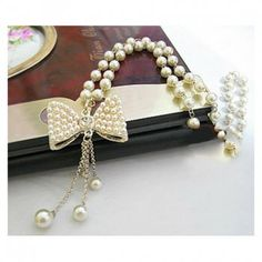 New Arrival Bowknot and Olivet Embellish Necklace For Female in Necklaces | DressLily.com