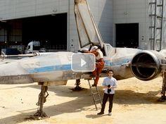 JJ Abrams muestra en un vídeo un X-wing que se verá en Star Wars Episodio VII
