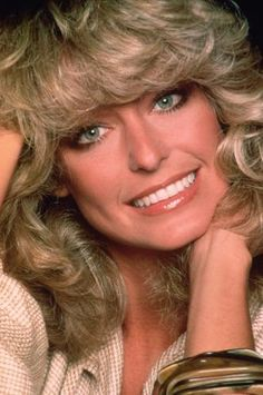 Farrah Fawcett ... we all got this haircut my senior year of college