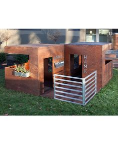 These would be great playhouses for Laelah and Buster...lol, but way too pricey!