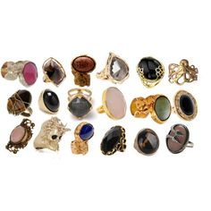 rings galore. must save up for a ysl one..