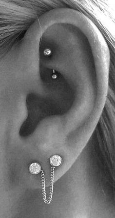 Simple Rook Jewelry Cute Ear Piercing Ideas for Teens Cute Curved Barbell Ea. - Simple Rook Jewelry Cute Ear Piercing Ideas for Teens Cute Curved Barbell Ea… Auge iDeen 👀 - Tragus Piercings, Rook Piercing Jewelry, Upper Ear Piercing, Rook Jewelry, Double Cartilage Piercing, Cute Ear Piercings, Eyebrow Jewelry, Peircings, Gold Jewellery