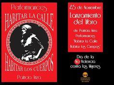 Performance Habitar la Calle, Habitar los Cuerpos Cover, Street, Book, November, Blanket