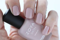 Zoya Naturel Satins Brittany Swatch -  Medium Pink Mauve Nail Polish for Spring 2015