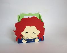Caixinha Box Merida - princesa
