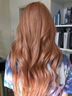 Rose gold hair color ideas for summer Rose Gold Haarfarbe Ideen für den Sommer 2018 Rose gold hair color ideas for summer 2018 – – color - Hair Color Balayage, Hair Highlights, Haircolor, Cabelo Rose Gold, Gold Hair Colors, Hair Color Caramel, Ginger Hair, Summer Hairstyles, Hair Lengths