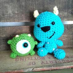 Amigurumi Monster Inc Patrones : crochet amigurumi!!! by huntress1 on Pinterest Amigurumi ...