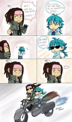 Mink and Aoba .. XD DMMd