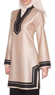 6b0023e19b Devon Moroccan Inspired Long Tunic - Blush