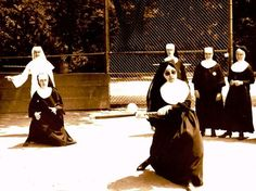 if charlie parker was a gunslinger,there'd be a whole lot of dead copycats: Nuns Gone Wild