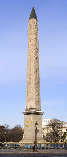 Luxor Obelisk, Paris. How did Napolean get it from Egypt to Paris?