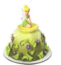 Disney Fairies Tinkerbell Mini Kids Birthday Cake Decoration Toppers