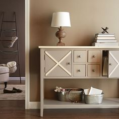 Make clutter a thing of the past with chic storage.