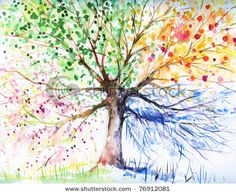 See Seasons Art Prints at FreeArt. Get Up to 10 Free Seasons Art Prints! Gallery-Quality Seasons Art Prints Ship Same Day. Canvas Art Prints, Painting Prints, Painting Canvas, Ink Painting, Tree Wall Art, Wall Mural, Tree Artwork, Wall Decals, Colorful Trees