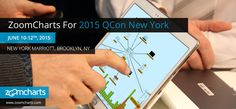 ZoomCharts is offering data visualization tools to support speakers at the QCon New York conference, taking place June through at the New York Marriott at the Brooklyn Bridge, Data Visualization Software, Multi Touch, Big Data, Charts, Brooklyn, June, New York, Blog, Graphics