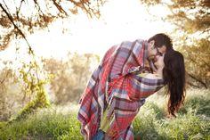 blanket couples shoot