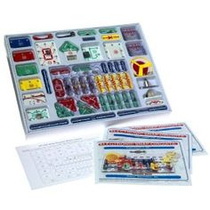 HOMESCHOOL Contains all of the projects from the 100-in-1 and 300-in-1 kits and 206 additional projects, including a music meter, an FM radio, and a digital voice recorder. $55.55
