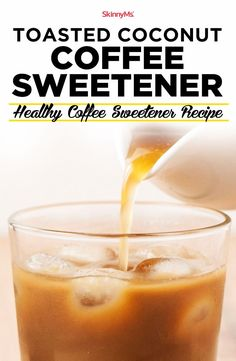 if you're looking for healthier ways to satisfy your morning sweet tooth, you'll love our Toasted Coconut Coffee Sweetener. Kick the old sugar trap! Read on. Heart Healthy Recipes, Healthy Breakfast Recipes, Simple Recipes, Skinny Recipes, Breakfast Dishes, Paleo Recipes, Healthy Food, Healthy Eating, Baking With Honey
