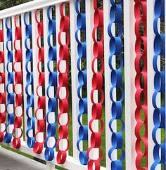 100 cheap and easy DIY of July decorations - myra warshauer 100 Cheap and Easy DIY of July Decorations 100 cheap and easy July DIY Party Decor Ideas - Prudent Penny Pincher Fourth Of July Decor, 4th Of July Celebration, 4th Of July Decorations, Party Table Decorations, 4th Of July Party, Decoration Table, July 4th, Memorial Day Decorations, 4th Of July Ideas