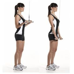 Tricep Pushdown with Grip Flip  http://www.womenshealthmag.com/fitness/michelle-obamas-arms-workout