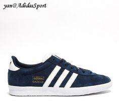 new arrivals 4ab43 3c9af Zapatillas Adidas Originals Gazelle OG Mujeres Oscuro IndigoBlanco Online  Venta