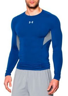 Under Armour Royal HeatGear174 Coolswitch Compression Long Sleeve Shirt