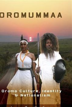 Oromo man and woman: cultural identity