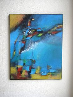 ORIGINAL  Modern  Wall Decor Abstract  Painting by ModernArtForYou on Etsy, $149.00