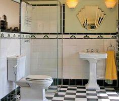Small Talk: Petit Tresors Art Deco Bathroom