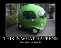 I present to you, the Volkswagen Nano in other words some idiot let one rip in a smart car. What the Hell is that! It looks like a front of VW bus nose put on an egg! Smart Auto, Smart Car, Vw Bus, Auto Volkswagen, Vw Camper, Automobile, Haha, Camping Car, Camping Photo