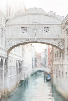The Bridge of Sighs | Venice, Italy.