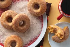Pumpkin Cake Doughnuts Recipe   King Arthur Flour: Wonderfully moist, flavorful pumpkin doughnuts that are baked, not fried.