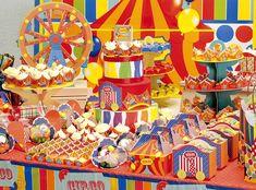 Festa Circo #festa #circo #circus #colorido #divertido
