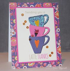 Coffee cup themed cards featuring  Simon Says Stamp October Card Kit. #simonsaysstamp #sssck