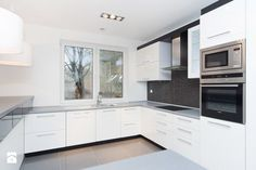 Zdjęcie: Budynek jednorodzinny w Szwecji - Kuchnia - Styl Skandynawski - EM projekt Architektura i Wnętrza