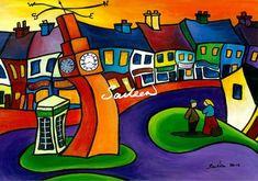 Company Time Westport County Mayo by Saileen Drumm on ArtClick. Artwork Prints, Fine Art Prints, Irish Art, Rock Art, Online Art Gallery, Clear Acrylic, To My Daughter, Graffiti, Original Paintings